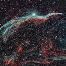 Western Veil Nebula,                                Matthew Enrietta