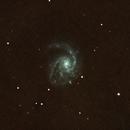 M99: Virgo Cluster Pinwheel,                                orangemaze
