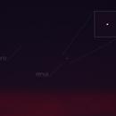 Mercury-Venus Conjunction (22-05-2020),                                sergio.diaz