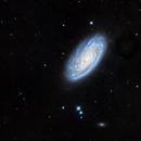 M 88  Galaxie spirale dans la constellation de la Chevelure de Bérénice,                                Roger Bertuli