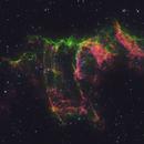 Veil Nebula in HOS (French Canadian Telescope Color Pallet),                                Brian Meyerberg