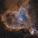 Heart Nebula H(HO)O,                                Lee B