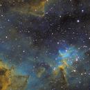 The Heart Nebula IC1805 - Hubble Palette SHO,                                Observatorio Zonalunar