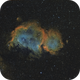 IC 1848 in SHO on... unguided EQ3-2 !!!,                                Pulsar59