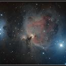 Messier 42 la Nébuleuse d'ORION,                                Camille COLOMB