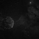 IC 443 The JellyFish Nebula in Ha,                                Chris