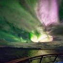 Norway Aurora (Oct  2018) Hurtigruten  Reprocess,                                simon harding