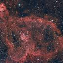 Heart and Fish Head Nebulas,                                sbradley07