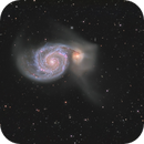 M51 - The Whirlpool Galaxy,                                Peter Goodhew