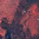 The North America and Pelican Nebula,                                apd123
