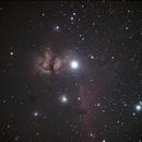 NGC2024 and IC434,                                Eisman