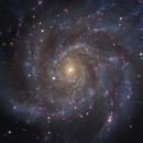 M 101 HAlpha LRGB,                                Christoph Lichtblau
