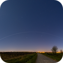 The Moon, an ISS transit, and Venus-M45 conjunction...,                                David