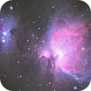 M42 and the running man,                                Benjamin Lefevre