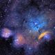 NGC 6559 Narrowband,                                alistairsam