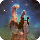 """""""Pillars of Creation"""" - Hubble Space Telescope,                                Rudy Pohl"""