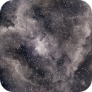 HEART NEBULA IN HA,                                Blue Moon Observa...