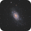 NGC 2403 - ZWO ASI2600MC Pro first light,                                Andrew Burwell