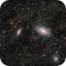 M81, M82, NGC 3077, and Integrated Flux Nebula,                                Wei-Hao Wang