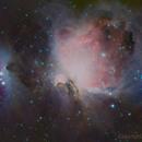 Orion Nebula & Running Man,                                Jeff Bennett