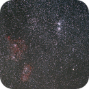 Heart and Soul and Double cluster,                                roxunreal