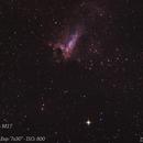 Omega Nebula - M17,                                Diego Landstallker