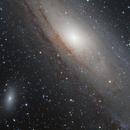 M31 - The Andromeda Galaxy Close-Up,                                Samuli Vuorinen