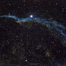 Western Veil Nebula (NGC 6960),                                Jenke ter Horst