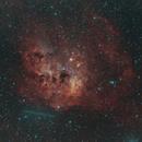 IC410 and comet C2/2020 M3,                                Joel85