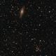 Galaxie NGC 7331 und Friends sowie Stephan´  s Quintett im Pegasus (Crop),                                astrobrandy
