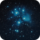 M45 Pleiades Star Cluster,                                Derek Ford