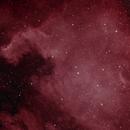 North American Nebula in false color,                                Dan Kordella