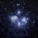 Pleiades Star Cluster (M45),                                Dionisio Bogtae Jr