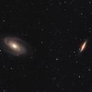 M81 - M82 / Bode - Cigar Galaxies,                                Marco Prelini