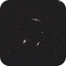 Leo Triplet & friends in wide field,                                Christophe Perroud