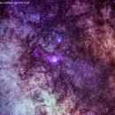 panoramico   campo stellare  con  m.8  m.20,                                Carlo Colombo