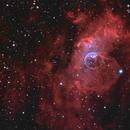 NGC 7635 The Bubble Nebula,                                  Peter Goodhew