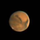 Mars under bad seeing,                                Dominique Callant