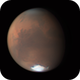 Mars - 4th August 2020 possibly showing dust evolution at the South Polar Cap,                                Niall MacNeill
