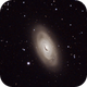 Black Eye Galaxy,                                Jerry Hulm