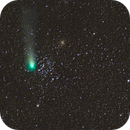 Comet 21p Giacobini-Zinner and M35,                    Chad Andrist