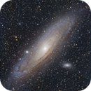 M31 from the Medicine Bow Mountains,                                Scott Denning