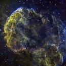 Jellyfish Nebula (Cropped) in SHO,                                Mike