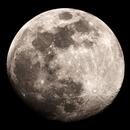 Waxing gibbous moon,                                Kristof Dabrowski
