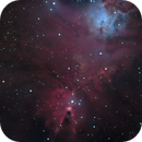 Cone Nebula (RGB),                                DerPit