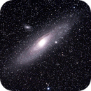 Andromeda Galaxy - M31, M32, M110,                                Manuel Peitsch