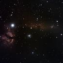 Flame & Horsehead, IC434, Barnard 33,                                Andy Harwood