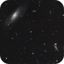 M 106 with possible companion galaxy NGC 4217,                                Stephan