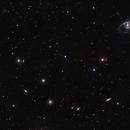 The Fornax Cluster of Galaxies (only one part),                                Jaime Felipe Ramírez Narváez