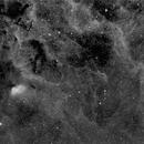 Sh2-101, the Tulip Nebula [Area], Ha,                                Stephen Garretson